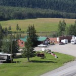 View of Toad River Lodge