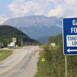 Alaska Highway Mile 422