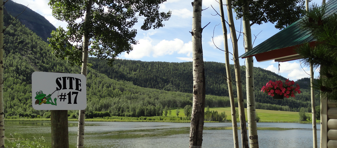 Relax at our campground & in our new cabins, right on Reflection Lake.