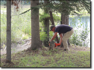 Darrel-cleaning-up-after-the-resident-Beaver-